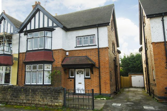 Thumbnail Semi-detached house for sale in Sandringham Avenue, West Bridgford, Nottingham