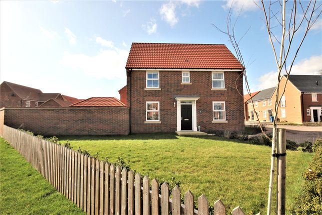 Thumbnail Detached house for sale in Hazelwood Drive, Hessle