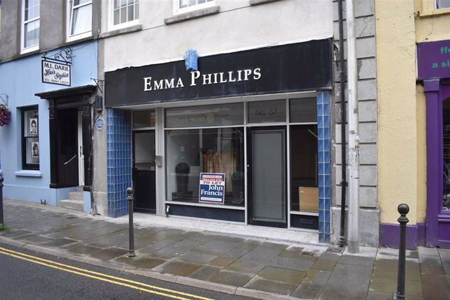 Thumbnail Retail premises to let in King Street, Carmarthen