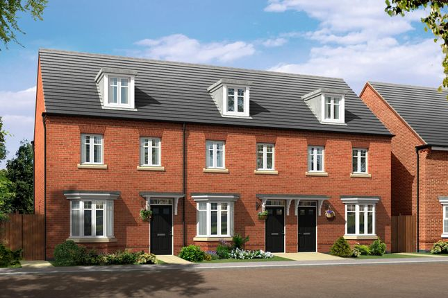 """Thumbnail Terraced house for sale in """"Kennett"""" at Allendale Road, Loughborough"""