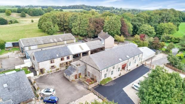 Thumbnail Detached house for sale in Cowdale, Buxton