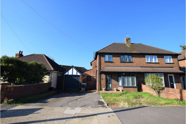 Thumbnail Land for sale in Hunters Road, Chessington