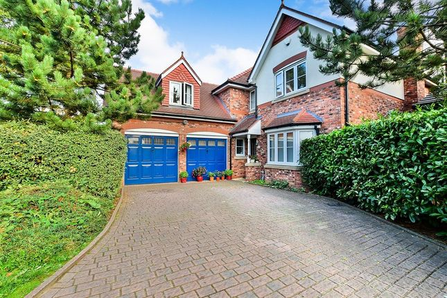Thumbnail Detached house for sale in Harrow Close, Wilmslow