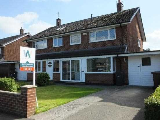 Thumbnail Semi-detached house to rent in Hargreaves Avenue, Leyland