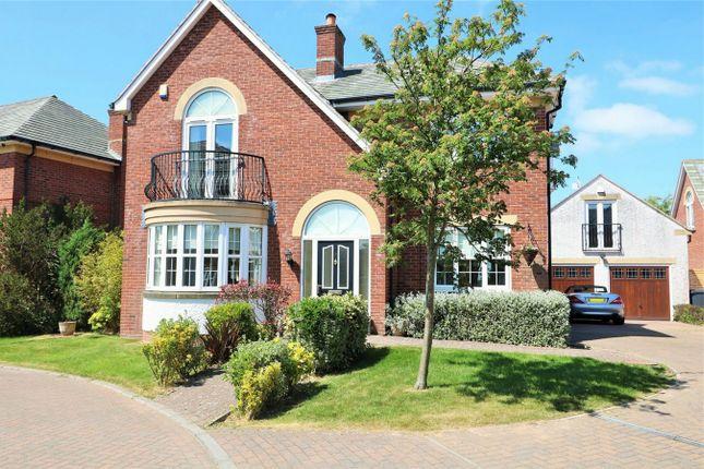Thumbnail Detached house for sale in Ferndale, Fulwood, Preston, Lancashire