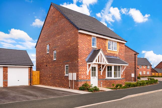 "Thumbnail Detached house for sale in ""Chesham"" at Hampton Dene Road, Hereford"