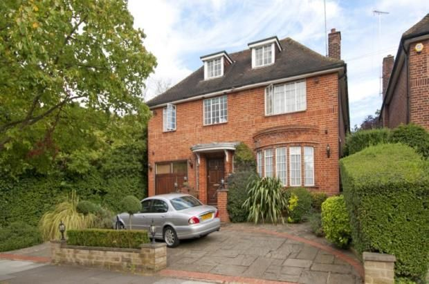 Thumbnail Detached house for sale in Norrice Lea, Hampstead Garden Suburb, London