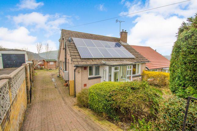 Thumbnail Semi-detached bungalow for sale in Whiterock Avenue, Pontypridd