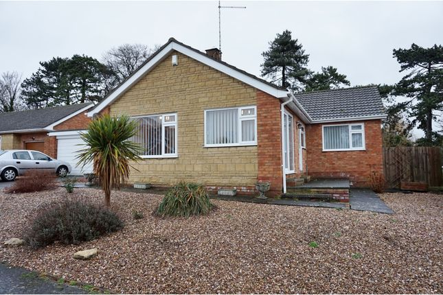Thumbnail Detached bungalow for sale in Abbots Way, Wellingborough