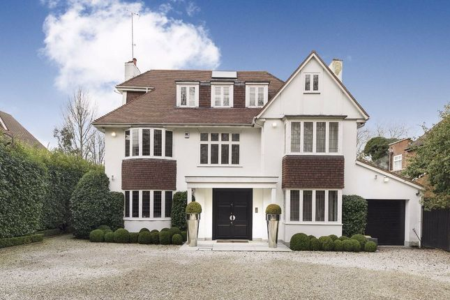 Thumbnail Detached house for sale in West Heath Avenue, London