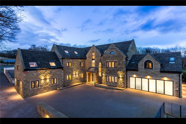 Thumbnail Detached house for sale in Coachgates, Flockton, Wakefield, West Yorkshire
