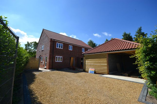 Thumbnail Semi-detached house for sale in Senters Road, Dersingham, King's Lynn