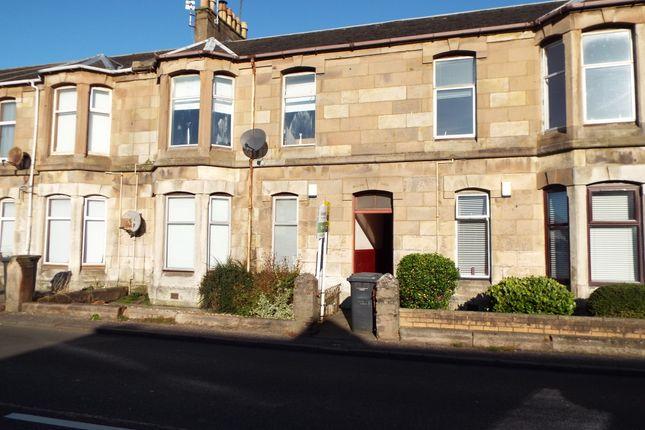 Thumbnail Flat for sale in Stevenston Road, Kilwinning
