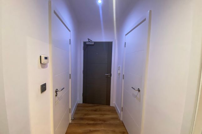 Internal Hallway of Honduras Wharf, Summer Lane, Birmingham B19