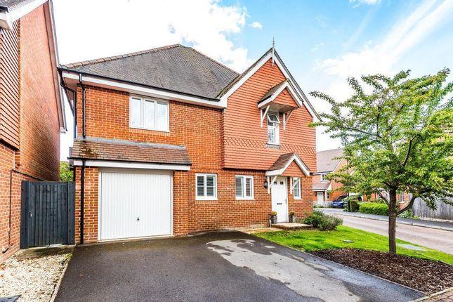 Thumbnail Detached house for sale in Lowbury Gardens, Compton, Newbury