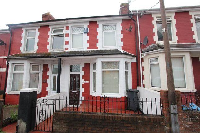 Thumbnail Terraced house for sale in Hannah Street, Barry