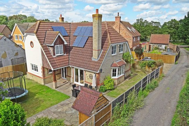 Thumbnail Detached house for sale in Lower Caldecote, Biggleswade