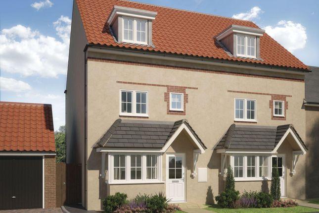 "Thumbnail Terraced house for sale in ""Woodbridge"" at Butt Lane, Thornbury, Bristol"