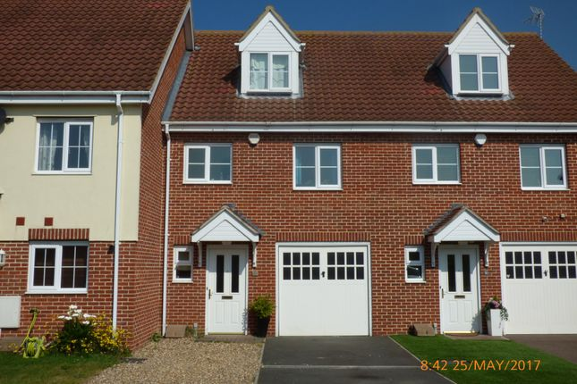 Thumbnail Terraced house to rent in Heritage Close, Kessingland, Lowestoft