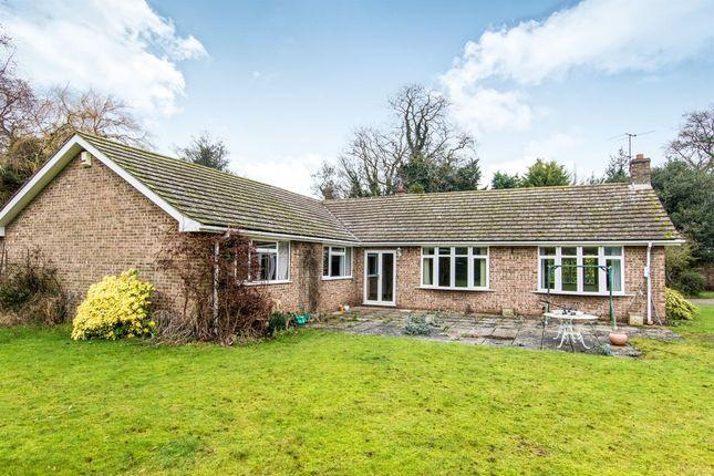 Thumbnail Detached bungalow for sale in Main Street, Honington, Grantham