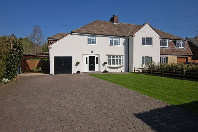 Thumbnail Semi-detached house for sale in Darras Road, Ponteland, Newcastle Upon Tyne