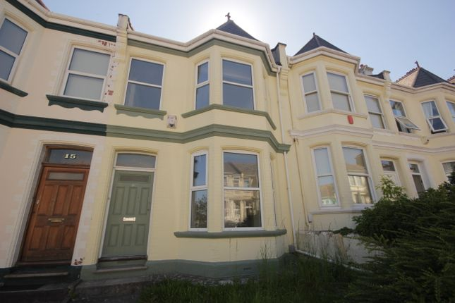 Thumbnail Terraced house to rent in Amherst Road, Pennycomequick, Plymouth
