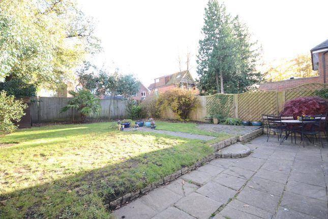 Rear Garden of College Road, College Town, Sandhurst GU47