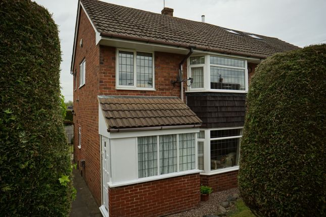 Thumbnail Semi-detached house for sale in Beverley Crescent, Stoke-On-Trent