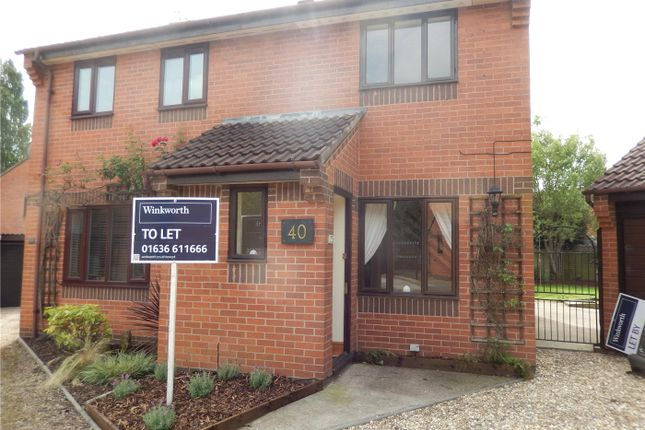 2 bed semi-detached house to rent in Hounsfield Close, Newark