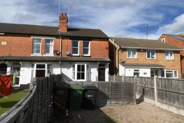 Thumbnail Terraced house to rent in Wood Terrace, Worcester
