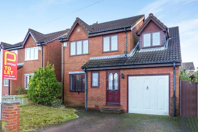 Thumbnail Detached house to rent in Durham Place, Birtley, Chester Le Street