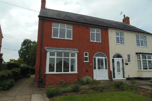 Thumbnail Semi-detached house to rent in Deacon Cottages, Broughton Road, Croft, Leicester