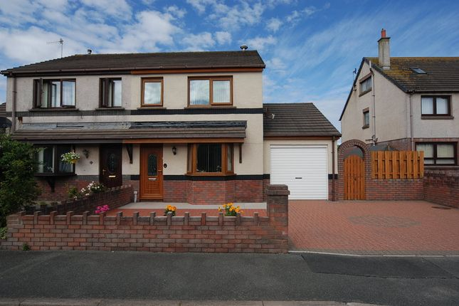 Thumbnail Semi-detached house for sale in Parklands Drive, Askam-In-Furness, Cumbria