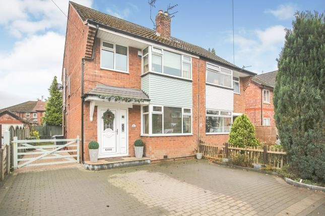 Thumbnail Semi-detached house for sale in The Circuit, Wilmslow, Cheshire, .