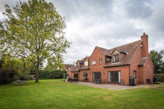 Thumbnail Detached house for sale in The Willows, Netherwood Lane, Chadwick End, West Midlands