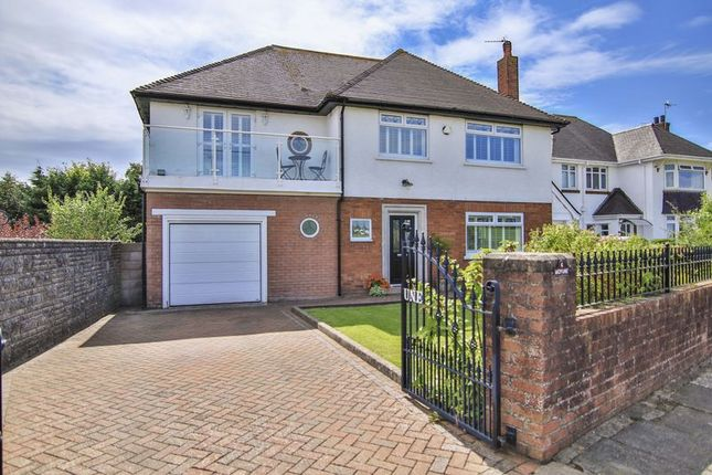 Thumbnail Detached house for sale in Channel View, Penarth, Vale Of Glamorgan