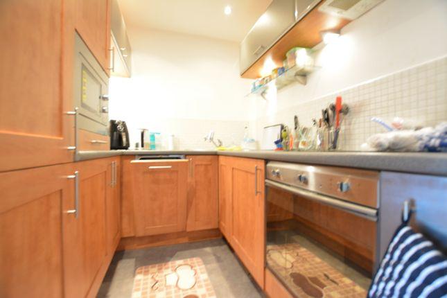 Kitchen of The Habitat, Woolpack Lane, Nottingham NG1