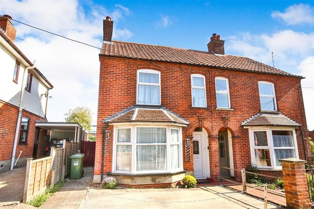 Thumbnail Semi-detached house for sale in Ratcliffe Road, Fakenham