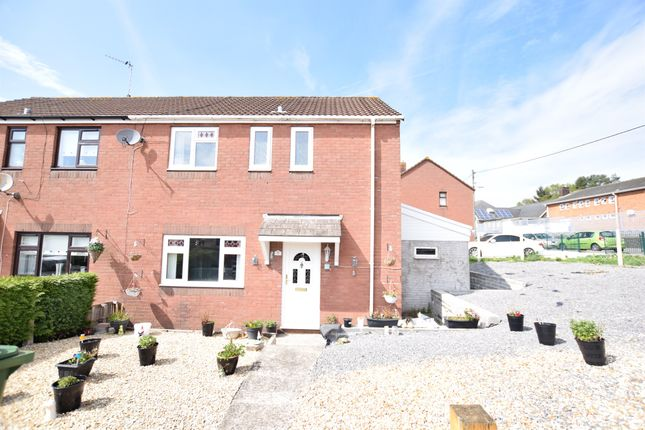 Thumbnail Semi-detached house for sale in George Street, Aberbargoed, Bargoed