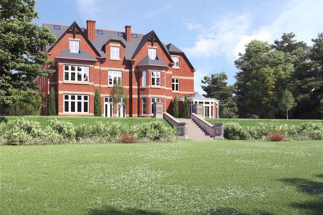 Rear Manor House of Apartment 8, The Beeches, Malpas, Cheshire SY14