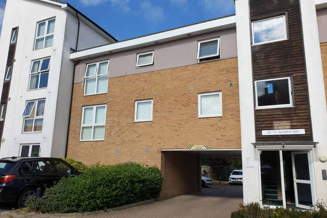 Thumbnail Flat for sale in Olympia Way, Whitstable