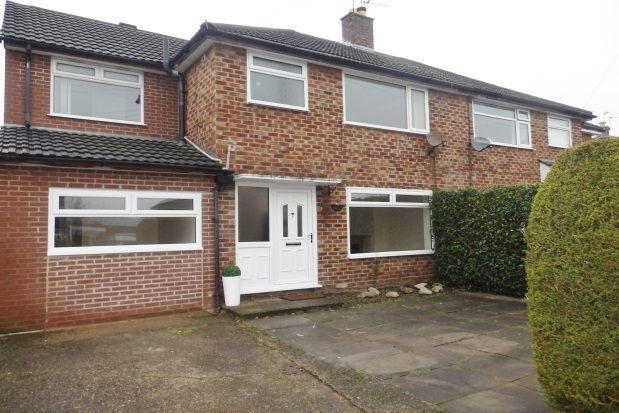 Thumbnail Semi-detached house to rent in Milton Crescent, Heswall, Wirral