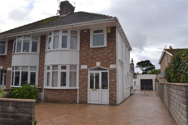 Thumbnail Semi-detached house for sale in Waunlon, Newton, Porthcawl