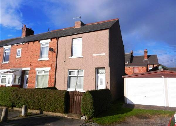 Thumbnail End terrace house to rent in Duffy Terrace, Annfield Plain, Stanley