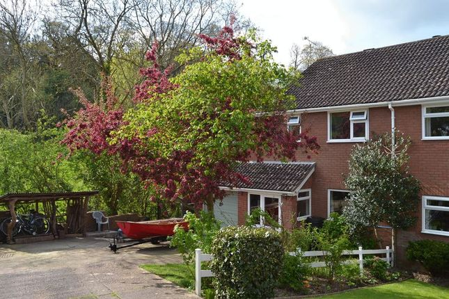 Thumbnail Semi-detached house to rent in Bushy Coombe Gardens, Glastonbury