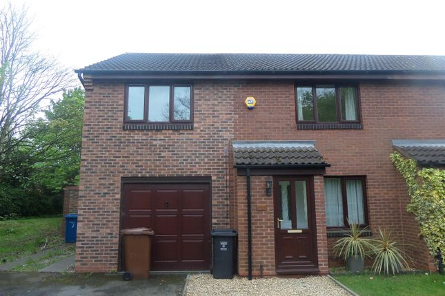 Thumbnail Semi-detached house to rent in Bloomsbury Way, Lichfield
