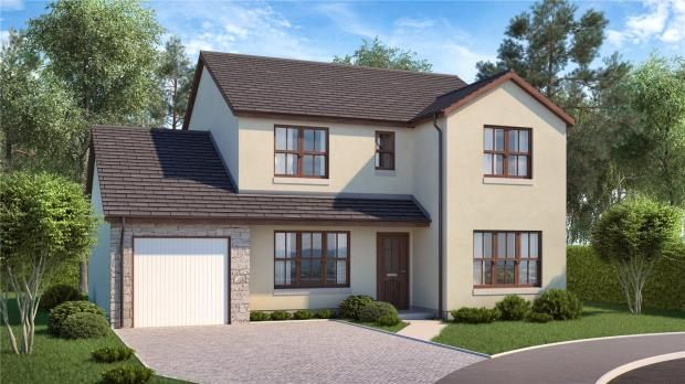 Thumbnail Detached house for sale in The Barlass, Plot 7B, Moulin View, Finlay Terrace, Pitlochry