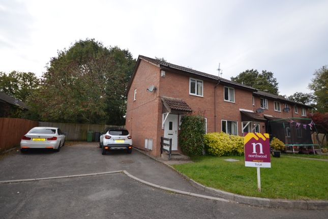 Thumbnail End terrace house to rent in Carlton Close, Thornhill, Cardiff