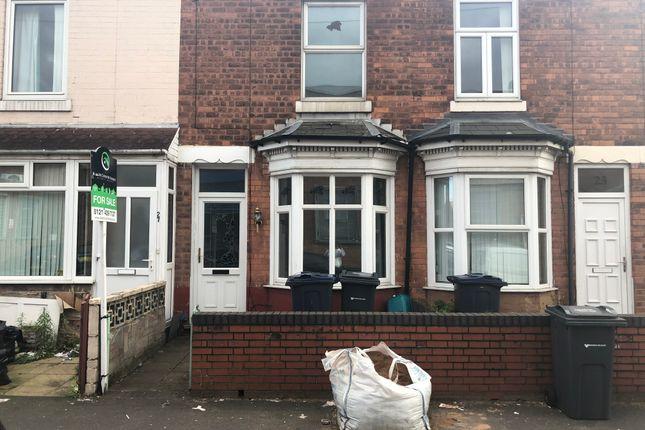 Thumbnail Terraced house to rent in Deykin Avenue, Aston