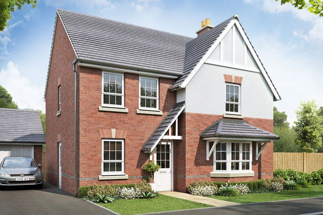 "Thumbnail Detached house for sale in ""Cambridge"" at Beggars Lane, Leicester Forest East, Leicester"